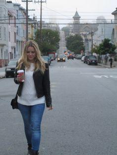 San Francisco <3 #levis #denim #leatherjacket #asos #asseenonme #aldo #zara #zaradaily #forever21 Santa Monica, Private Website, Zara, New York, Forever21, Levis, San Francisco, Road Trip, Asos