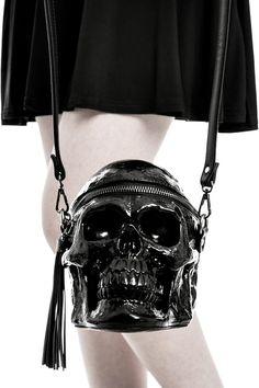 Grave Digger Skull Handbag [B] | KILLSTAR
