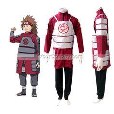 Naruto Shippuden Akimichi Chouji Men's Cosplay Costume, Naruto Cosplay Costumes, Cosplay Costumes