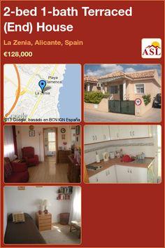 2-bed 1-bath Terraced (End) House in La Zenia, Alicante, Spain ►€128,000 #PropertyForSaleInSpain