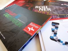 Rohner Socks | Moodbook - brochure design - grafisch ontwerp