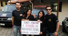 """BLOG ÁLVARO NEVES """"O ETERNO APRENDIZ"""" : POLICIAS FAZEM CAMPANHA CONTRA A REDUÇÃO DA MAIORI..."""
