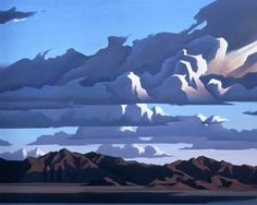 Estrella Mountains / Ed Mell / oil on canvas  My community lies among the…