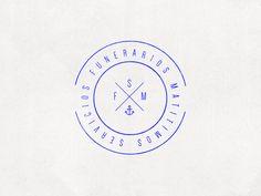 servicios funerarios marítimos / logo 2