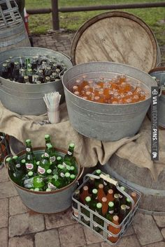 @Alysia Cook @Stephanie Cable we should so do this for our drinks at the shower to go with the mason jar drinking glasses/etc...too cute!!