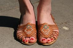 Time for Fashion » Summer Shoes: Huaraches