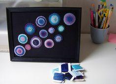 Felt Art for Swap by i am karin, via Flickr