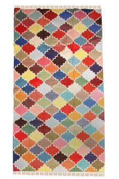 DHURRIE MULTICOLOR . Multicolor Indian dhurrie 180 por AUNTYBmadrid