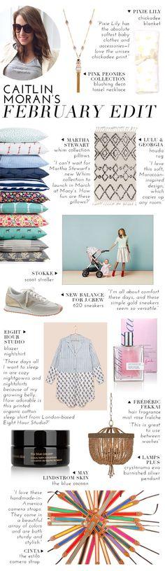 Caitlin's February Edit | theglitterguide.com