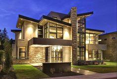 Casa Moderna com Tons de Cinza na Decoração!!!