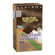 BRASS FREE NATURAL HAIR DYE. YES. NO MORE RED