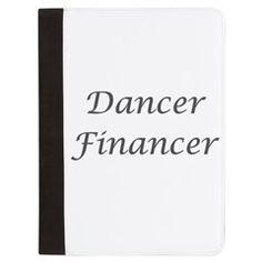 Padfolio > Dancer Financer > Dance Dad Shop  www.DanceDadShop.com