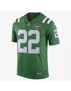 101316450 Nike NFL New York Jets Color Rush Limited (Matt Forte) Mens Football Jersey  Size Large (Green) - Clearance Sale nike New York Jets