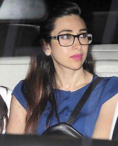 Karisma Kapoor at the screening of '2 States'. #Style #Bollywood #Fashion #Beauty