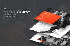 Business Creative Keynote by slidesugar on @creativemarket