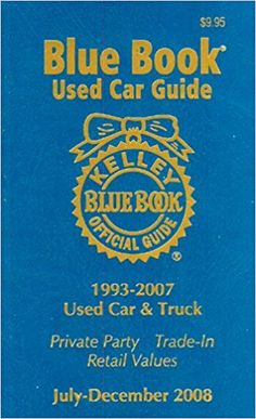 Kelley Blue Book Consumer Guide Used Car Edition: Consumer Edition (Kelley Blue Book Used Car Guide Consumer Edition) Cheap Used Cars, New And Used Cars, Used Car Guide, Used Car Values, Used Car Prices, Large Suv, Japanese Used Cars, Book Value, Kelley Blue