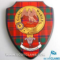 Drummond Clan Crest Wall Plaque