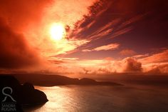 Norway North cape Nordkapp sunset photo print by behindmyblueeyes, $25.00