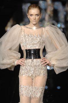 Dolce & Gabbana at Milan Fashion Week Fall 2007 - StyleBistro
