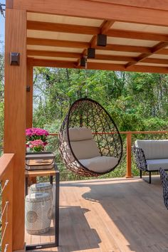 Rooftop Terrace Design, Terrace Decor, Balcony Design, Backyard Pavilion, Backyard Patio Designs, Home Room Design, Home Interior Design, Outdoor Pergola, Modern House Design