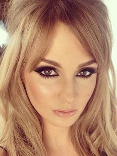 #MatteRevolution #CharlotteTilbury #VeryVictoria Lucky Professor Green! Millie Mackintosh becomes Bridget Bardot with sexy smoky eyes and nude lips