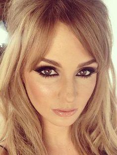 #MatteRevolution #CharlotteTilbury #VeryVictoria Lucky Professor Green! Millie Mackintosh becomes Bridget Bardot with sexy smoky eyes and nude lips