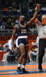 Junior Ed Ruth, now a three-time Big Ten Champion, was named 2013 Big Ten Wrestler of the Year after Penn State claimed it's third straight conference title.