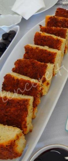 Çökelekli Biberli Ekmek (Hatay) tarifi Fudge, Turkish Recipes, C'est Bon, Apple Recipes, Summer Salads, No Cook Meals, Food To Make, Breakfast Recipes, Bakery