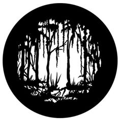 Scary Swamp Light - Stainless Steel Metal Gobo