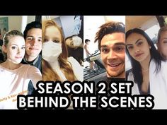 Riverdale Season 2 | Behind The Scenes | Kj Apa, Cole Sprouse, Lili Reinhart & Camila Mendes - YouTube