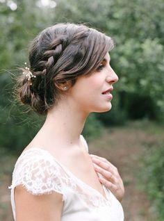 Barrette Pearl en perles naturelles pour mariée ou demoiselle d'honneur #englishgardencollection #barrettes #bohowedding #perlesnaturelles #hairpin #demoiselledhonneur #bohochic #mariage