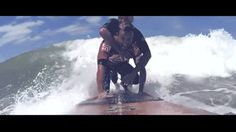 Argentine surfer sacrifices championship to let a paralyzed man ride with him surfup