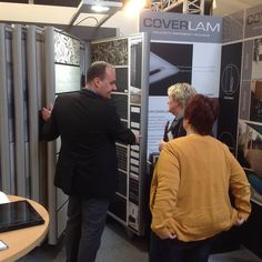Great acceptance of our collections Cava, Gala and #Coverlam at #TraucoBaustoffeGmbH (Großefehn, Germany)! #Tiles