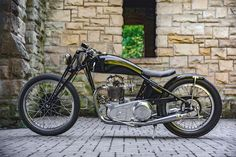 From rust to gold: The Gasbox Norton Dominator | Bike EXIF
