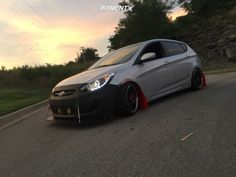 Accent Hatchback, Hyundai Accent, Custom Cars, Gallery, Vehicles, Cutaway, Automobile, Falcons, Car Tuning