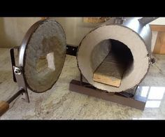 How to Build a Forge: Making a Gas Forge Burner (minimal tools / no welder) Forging Tools, Forging Metal, Metal Welding, Blacksmithing Knives, Metal Tools, Welding Art, Build A Forge, Diy Forge, Metal Projects