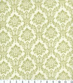 Keepsake Calico Fabric Damask Green, , hi-res Wondering if this would cordinate with Willow by Ryan McKenna