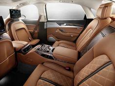 El Audi A8 L W12 exclusive, 50 unidades de lujo extremo - http://www.actualidadmotor.com/2013/11/20/audi-a8-w12-exclusive/