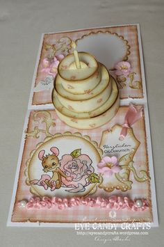 Whiff of Joy - Tutorials & Inspiration: 3D-PopUp-Birthday Cake Card