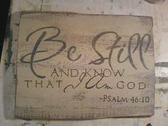 One of my all time favorite Bible verses on Distressed barn wood