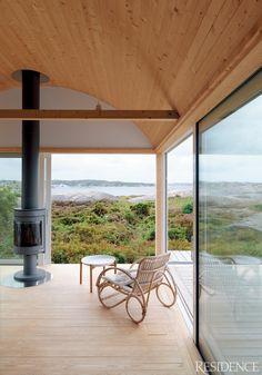 Allrummet - Modern Home #Glass #View