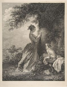 Le Chiffre d'Amour Engraved by Nicolas de Launay (French, Paris, 1739–1792) Artist: After Jean-Honoré Fragonard (French, Grasse 1732–1806 Paris) Date: 18th century Medium: Etching, first state Dimensions: sheet: 14 x 10 1/16 in. (35.6 x 25.5 cm) image: 11 3/4 x 10 1/16 in. (29.9 x 25.5 cm) Classification: Prints Credit Line: Harris Brisbane Dick Fund, 1935 Accession Number: 35.100.20
