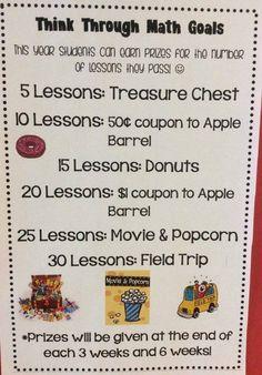 Highland Elementary Think Through Math Goals Teaching 5th Grade, 2nd Grade Classroom, 8th Grade Math, Sixth Grade, Math Classroom, Teaching Math, Third Grade, Classroom Ideas, Math Boards