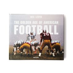 Larger-than-life football history shot by one of the greatest sports…