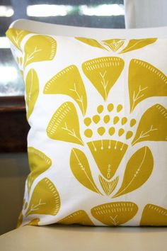 Eva Pillow Cover from leahduncan on Etsy