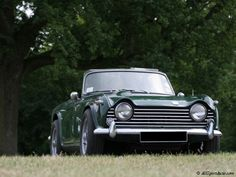 Triumph TR5: Our family car when I was little.