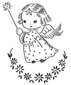 christmas angel kids page - Coloring Pages Angels Print