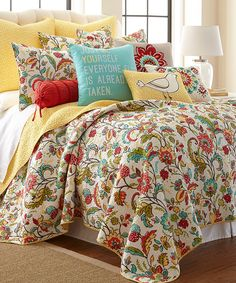 Look at this Meadow Quilt Set on #zulily today!