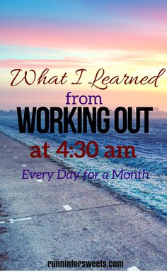 Sometimes starting truly is the hardest part... Here is what happened when I forced myself to wake up at 4:30 am for 21 days in attempts to make it a habit.