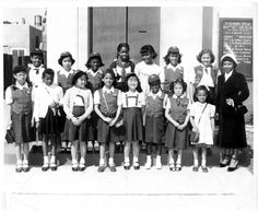 in 1950, the neighborhood around east 34th street in los angeles was completely integrated, black/ latino/asian, as evidenced by the ethnic makeup of this bluebird troop.